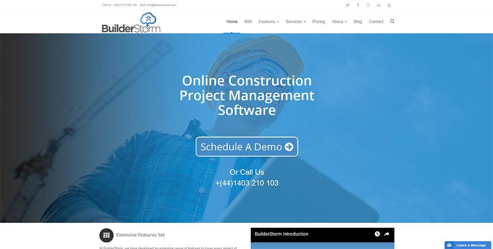 BuilderStorm Construction Management Software