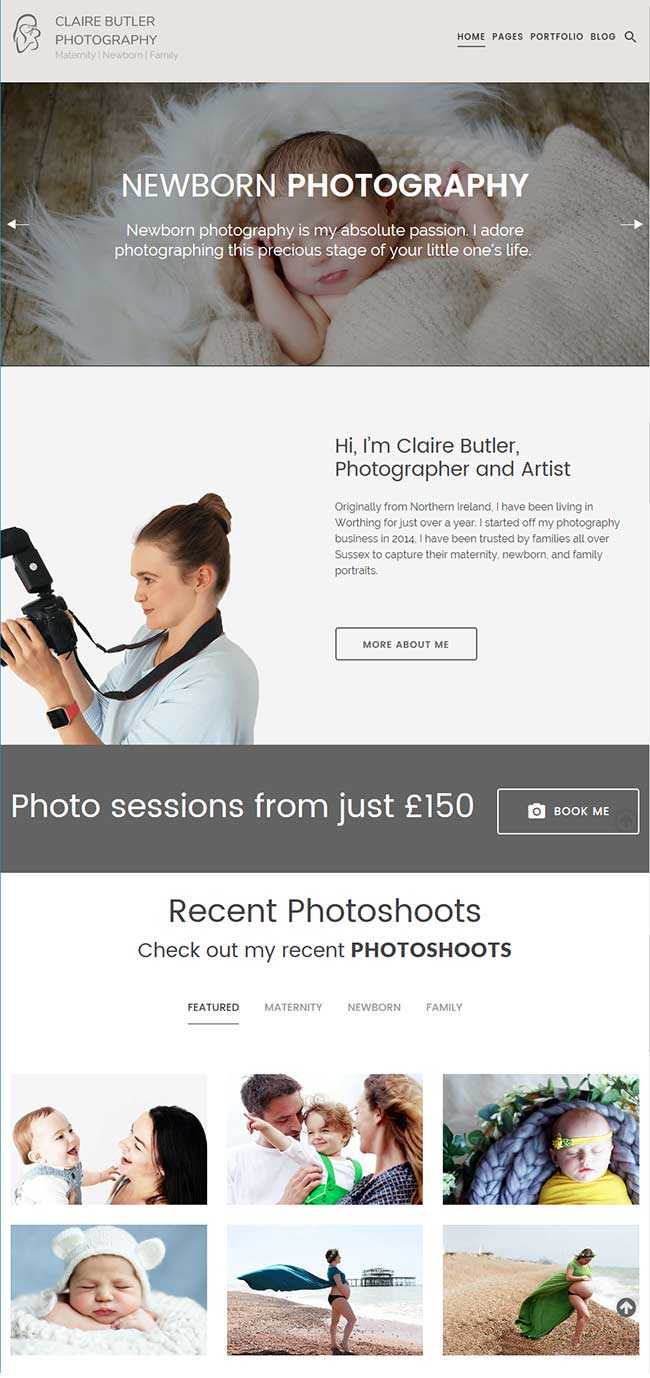 Claire Butler Photography Worthing