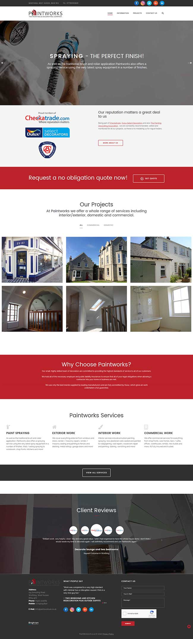 Paintworks Painters & Decorators Worthing